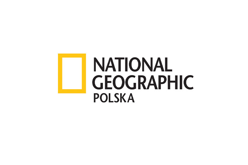 Logo National Geographic Polska