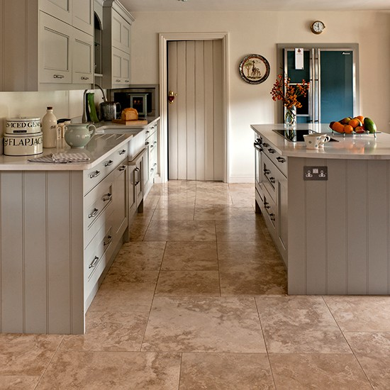 travertine flooring in kitchen 6352