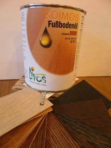 Olej wosk Koimos w trwaych kolorach