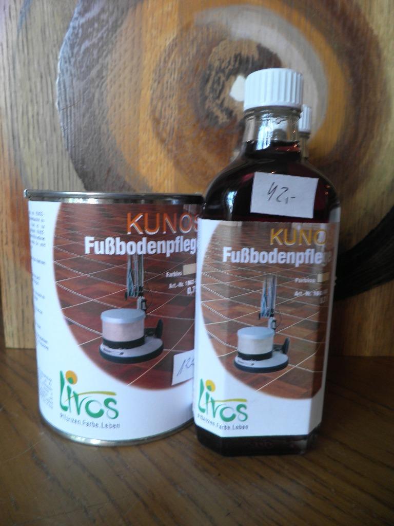 olej lniany do konserwacji podg desek LIVOS KUNOS