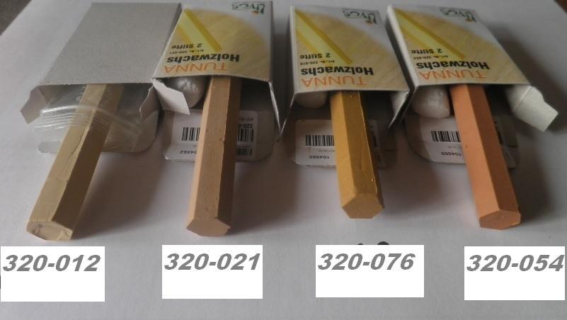 Wosk szpachel naprawczy Tunna 320 LIVOS